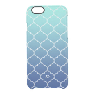 Ornate Sea Breeze Clear iPhone 6/6S Case