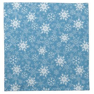 Ornate Snowflakes Napkin