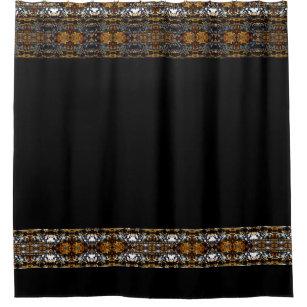 Ornate Steampunk Goth Victorian CricketDiane Shower Curtain