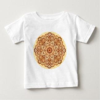 Ornate vintage circle napkin in mehndi style shirts