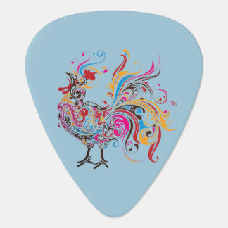 Ornate Wild Rooster Plectrum