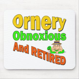 Ornery Obnoxious Retiree Mouse Mat