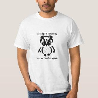 """ORNERY OWL"" © customizable T-Shirt"