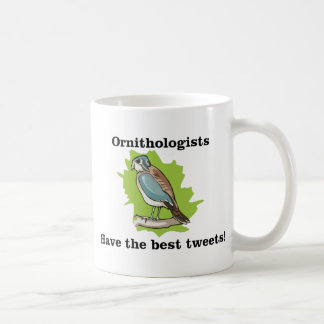 Ornithologists have the Best Tweets Coffee Mugs