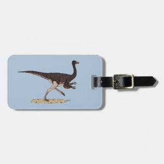 Ornithomimus Luggage Tag