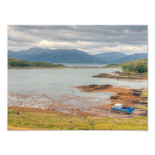 Ornsay and Loch Hourn Art Photo