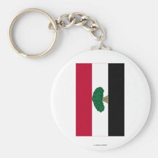 Oromia Flag Key Ring