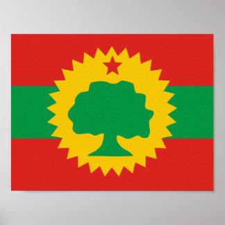 Oromo Flag Poster