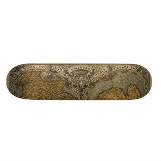 Oronce Fine 1531 Map Skate Boards