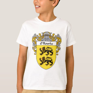 O'Rourke Coat of Arms (Mantled) Tshirt