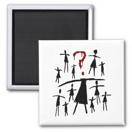 Orphan Black | Helena - Clone Sketch Square Magnet