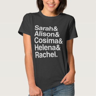 Orphan Black | Helvetica Design T Shirts