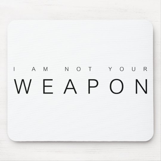 Orphan Black Not Your Weapon Mousepad