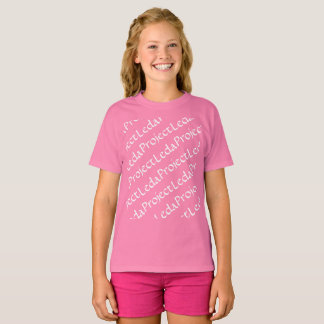 Orphan Black Project leda pattern T-Shirt