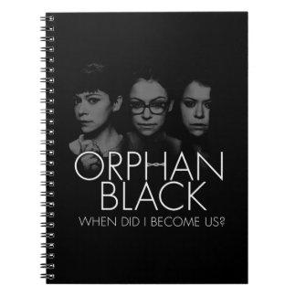 Orphan Black   Three Sestras Silhouette Notebook