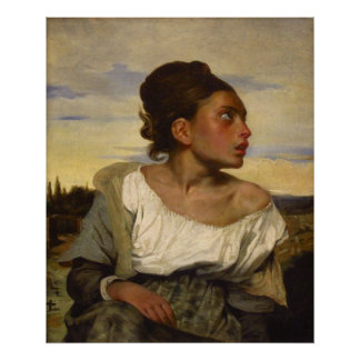 Orphan Girl at the Cemetery Posters