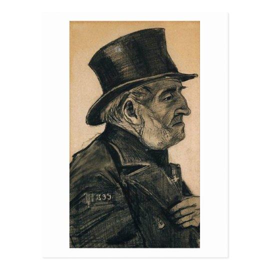 Orphan Man with Top Hat, Vincent van Gogh Postcard