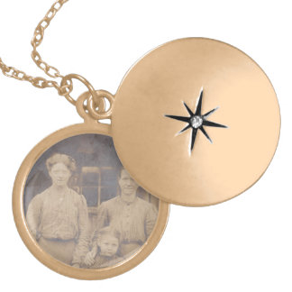 Orphan's Necklace Antique Depression era genealogy