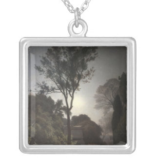 Orpheus, 1863 silver plated necklace