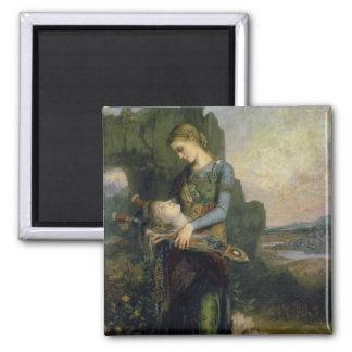 Orpheus, 1865 square magnet