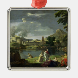 Orpheus and Eurydice 2 Christmas Ornament