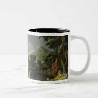 Orpheus and Eurydice 2 Two-Tone Coffee Mug