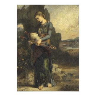 Orpheus by Gustave Moreau 13 Cm X 18 Cm Invitation Card