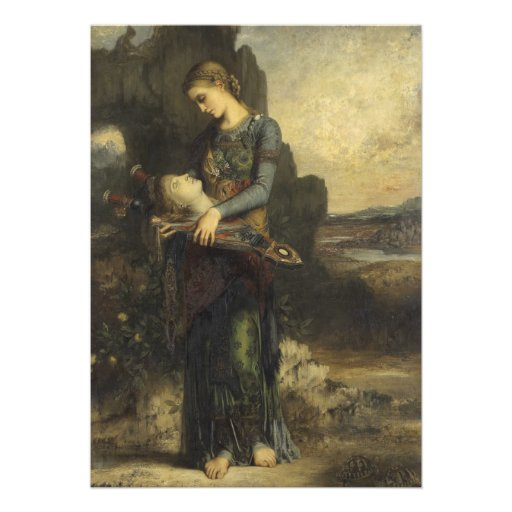 Orpheus by Gustave Moreau Announcements