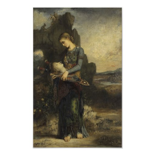 Orpheus by Gustave Moreau Poster