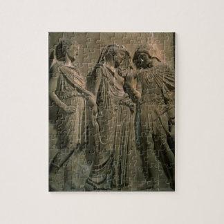Orpheus, Eurydice and Hermes (marble) Jigsaw Puzzle