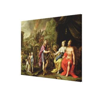 Orpheus in the Underworld Canvas Print