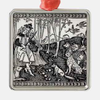Orpheus Playing to the Animals, 1500 Christmas Ornament