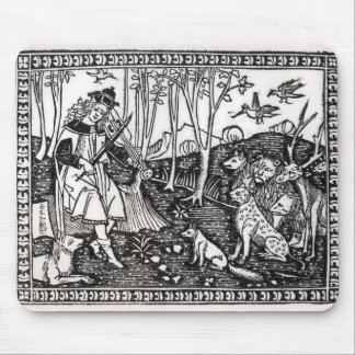 Orpheus Playing to the Animals, 1500 Mouse Mat