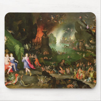 Orpheus with a Harp Playing to Pluto Mouse Mat