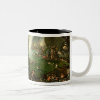 Orpheus with a Harp Playing to Pluto Two-Tone Coffee Mug