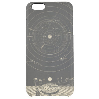 Orrery, Solar System Clear iPhone 6 Plus Case