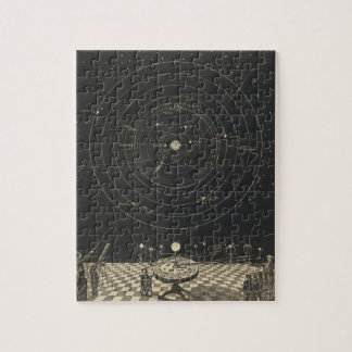 Orrery, Solar System Jigsaw Puzzle