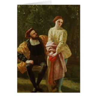 Orsino and Viola Card