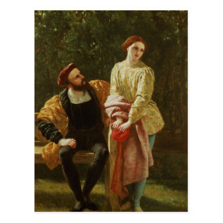 Orsino and Viola Postcard