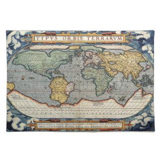 Ortelius Atlas Placemat