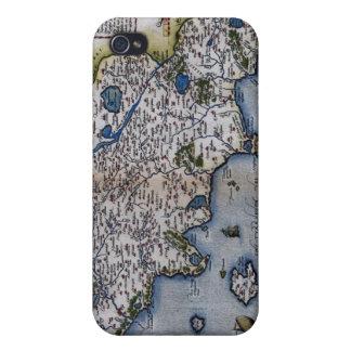 Ortelius' Thvsciae iPhone 4/4S Covers