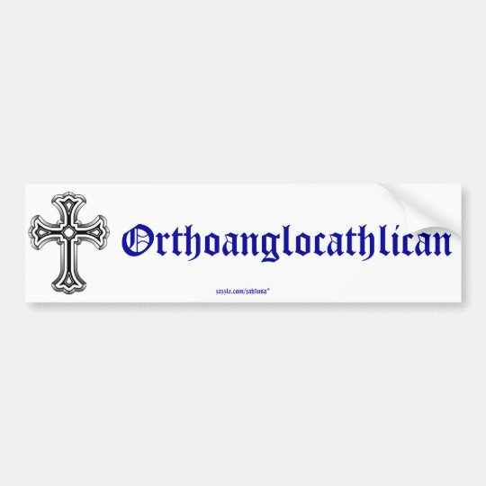Orthoanglocathilan Bumper Sticker