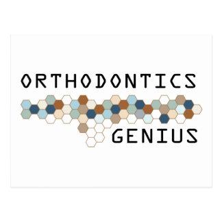 Orthodontics Genius Postcard