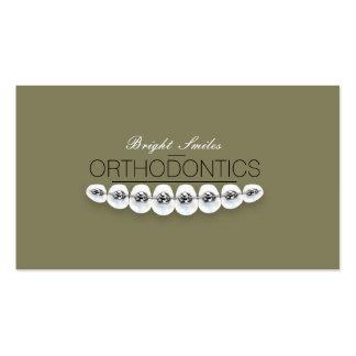 Orthodontist Dentist Dental Service Business Card