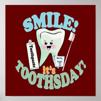 Orthodontist Orthodontics Orthodontry Poster