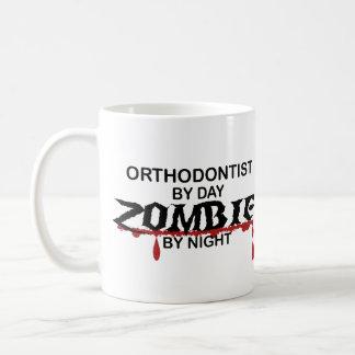 Orthodontist Zombie Basic White Mug