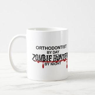 Orthodontist Zombie Hunter Basic White Mug