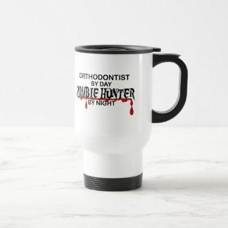 Orthodontist Zombie Hunter Stainless Steel Travel Mug