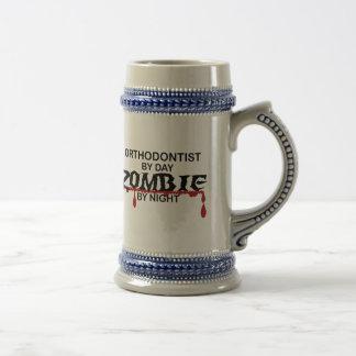 Orthodontist Zombie 18 Oz Beer Stein