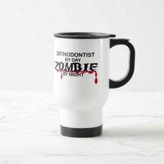 Orthodontist Zombie Stainless Steel Travel Mug